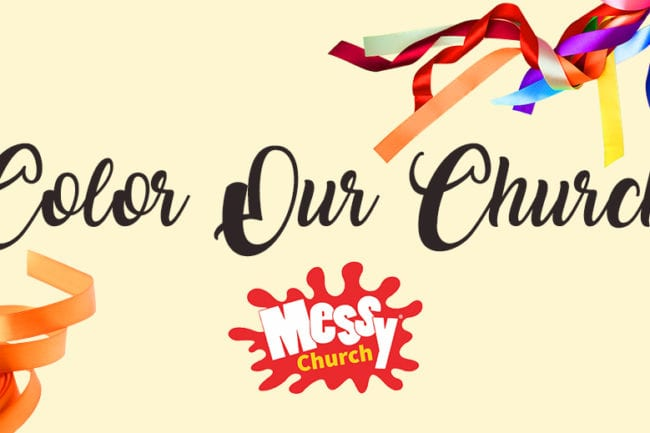 Messy Church: Color Our Church